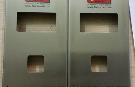 druk UV w pełnym kolorze na stali nierdzewnej